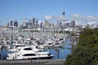 Photo du port d'Auckland