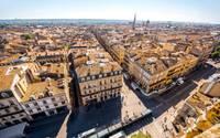 Vue du centre-ville de Bordeaux