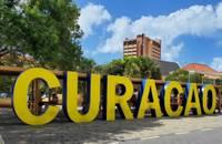 Photo du panneau de bienvenue de Curaçao