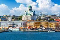 Photo du centre-ville d'Helsinki