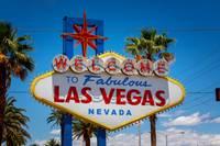 Photo du panneau d'entrée de Las Vegas