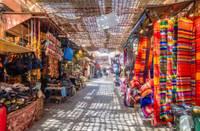 Photo du souk de Marrakech