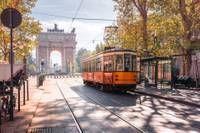 Photo de l'arc de triomphe de Milan