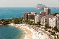 phot d'une plage paradisiaque de Rio