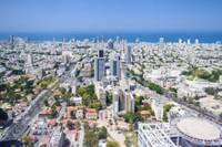 Vue panoramique du centre-ville de Tel Aviv