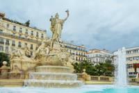 Photo de la Fontaine de la Fédération à Toulon