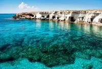 Photo d'une plage sur l'ile de Chypre