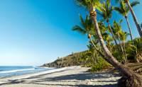 Photo d'une belle plage de sable à La Réunion