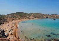 Photo d'une plage sur l'île de Minorque